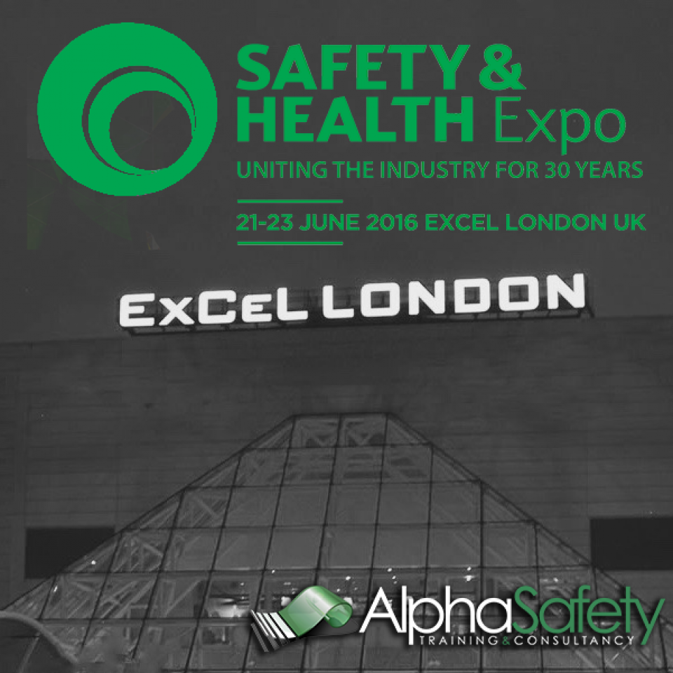 Alpha Safety Exhibiting at Health & Safety Expo 2016