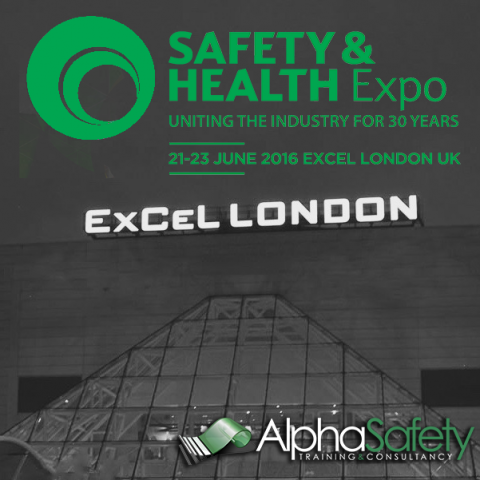 Alpha Safety Exhibiting at Health & Safety Expo 2016 image