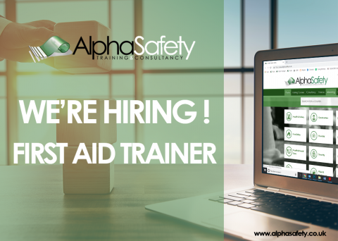 Job Vacancy - First Aid Trainer image